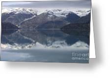 Reflections Of Glacier Bay Alaska II Greeting Card