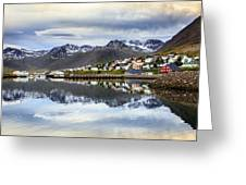 Reflections Of Iceland Greeting Card