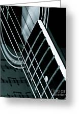 Reflections Of Music  Greeting Card