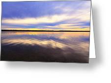 Reflections Of Muskallonge Greeting Card