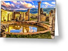 Reflections Of Past Glory Greeting Card