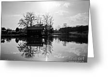 Reflections Of Peace And Tranquillity Greeting Card by Jinx Farmer
