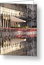 Reflections Of Saint Mark's Square -day Greeting Card