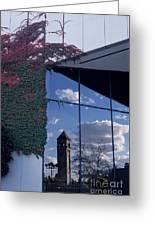 Reflections Of Spokane Greeting Card