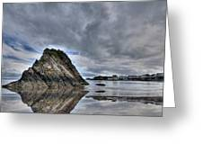 Reflections Of Tenby 2 Greeting Card