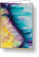 Reflections Of The Universe Series No 1420 Greeting Card