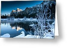 Reflections Of Yosemite Greeting Card