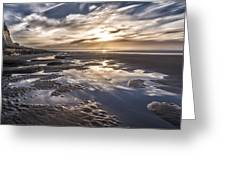 Reflections On A Beach Greeting Card