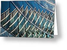 Reflections On Building Windows Greeting Card