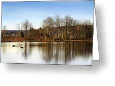 Reflections On Golden Pond Greeting Card
