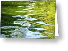 Reflections On Madrid Greeting Card