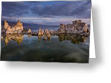 Reflections On Mono Lake 1 Greeting Card