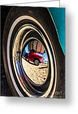 Reflections On Route 66 Greeting Card