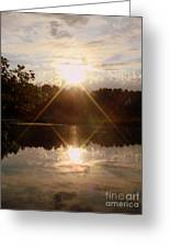 Reflections On The Bayou Greeting Card