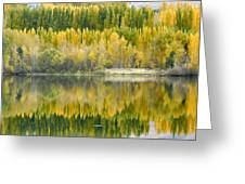 Reflections On The Columbia Greeting Card