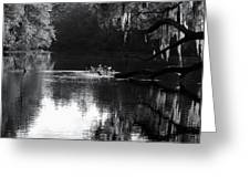 Reflections On The Withlacoochee Greeting Card