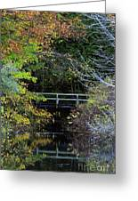 Reflective Fall Greeting Card