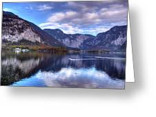 Reflectons Of Hallstatter See I Greeting Card