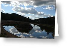 Reflexion Greeting Card