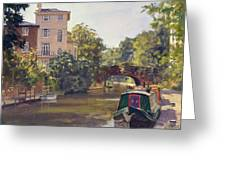 Regent S Park Canal Greeting Card