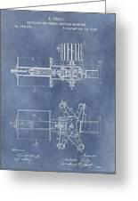 Regulator For Dynamo Electric Machine Patent Greeting Card