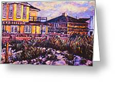 Rehoboth Beach Houses Greeting Card