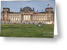 Reichstag Berlin Germany Greeting Card