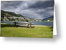 Relax In St Moritz Greeting Card