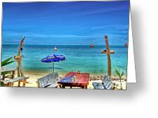 Relax On The Beach Greeting Card
