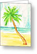 Relax Palm Greeting Card