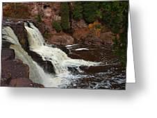 Relaxing Autumn Falls Greeting Card