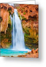 Relaxing Falls Greeting Card