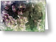 Relaxing Flowers Greeting Card
