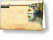 Relentless On The Water Greeting Card