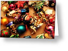 Remembering Cgristmases Past As You Trim This Years Tree. Greeting Card