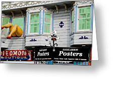 Remembering Haight Ashbury Greeting Card