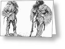 Remington Frontiersmen Greeting Card