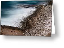 Remote Beach Scene Greeting Card