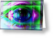 Remote Viewing Greeting Card