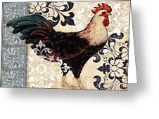 Renaissance Rooster I Greeting Card