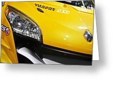 Renault Megane Trophy V6 Greeting Card