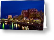 Reno At Twilight Greeting Card