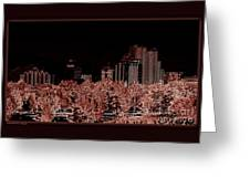Reno Night Life Greeting Card