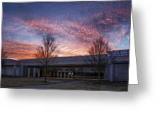 Renzo Piano Pavilion Greeting Card