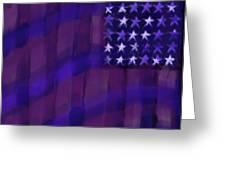 Repersentational Flag 3 Greeting Card