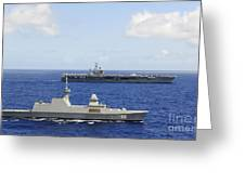 Republic Of Singapore Frigate Rss Greeting Card