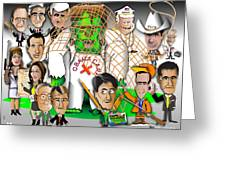 Republicans Net Frankenstein Monster Greeting Card by Dan Youra