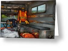 Rescue - Emergency Squad  Greeting Card