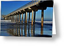 Research Pier- Scripps Greeting Card