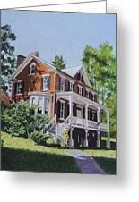 Residence In Sussex County Greeting Card